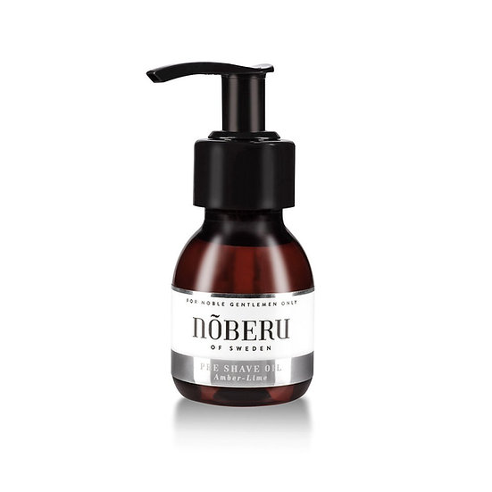 Nõberu Of Sweden Pre-Shave Oil Amber-Lime 60ml