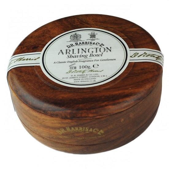 D.R. Harris Arlington Barbersæbe i Mahogni træskål 100 g