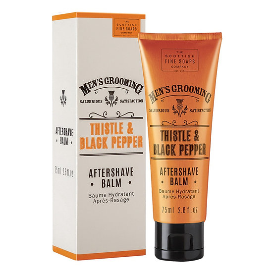 The Scottish Fine Soaps Company Thistle & Black Pepper Aftershave Balm 75 ml
