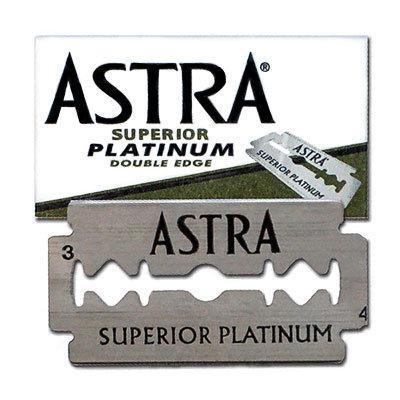 Astra Superior Platinum barberblade 5stk.