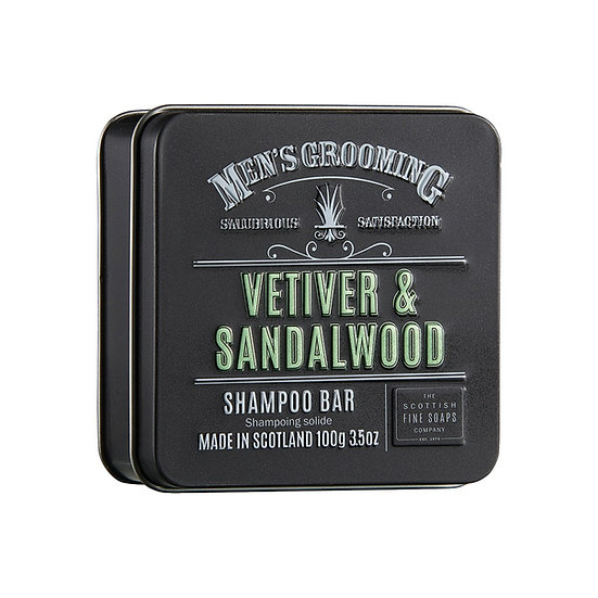 The Scottish Fine Soaps Company Vetiver & Sandalwood Shampoo bar100 g