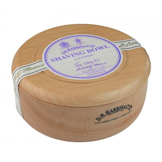 D.R. Harris Lavendel Barbersæbe i Bøgetræskål, 100 g
