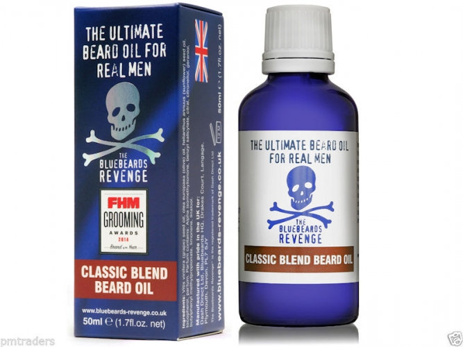 The Bluebeards Revenge Classic Skæg Olie 50ml
