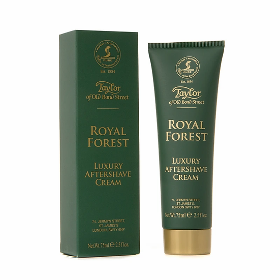 Taylor Of Old Bond Street Aftershave Cream Royal Forest 75 ml.