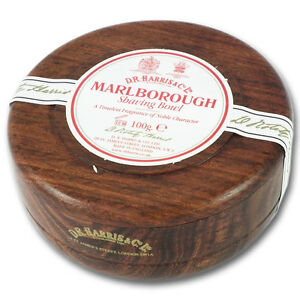 D.R. Harris Marlborough Barbersæbe i Maghoni Skål 100 g
