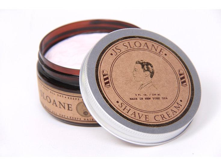 JS Sloane Gentlemen's Shave Cream 236 ml
