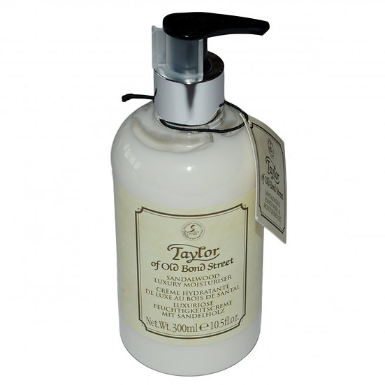 Taylor Of Old Bond Street Sandalwood Luxury Moisturizer 300 ml