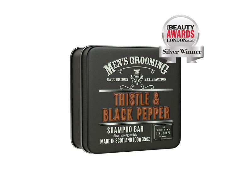 The Scottish Fine Soaps Company Thistle & Black Pepper Shampoobar 100 g