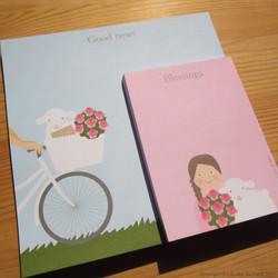 Good news & Blessings - Notepads