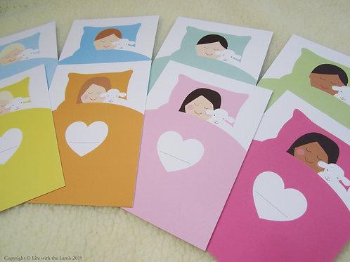 Sleep well card package