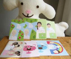 Life together - Postcard package