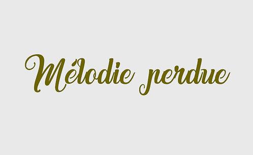 Mélodie perdue - 7 Pièces Créoles Vol 4