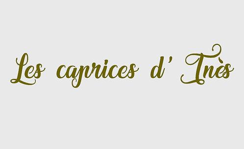 Les caprices d'Inès - 7 Pièces Créoles Vol 4