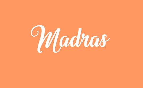 Madras - partition