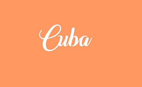 Cuba - partition
