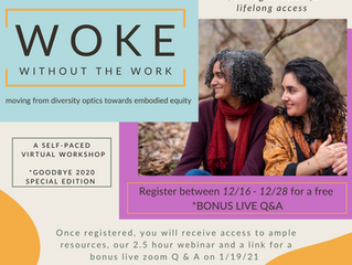 introducing the woke sessions!
