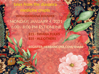 the perfumed garden : tales from the diaspora medicine crypts