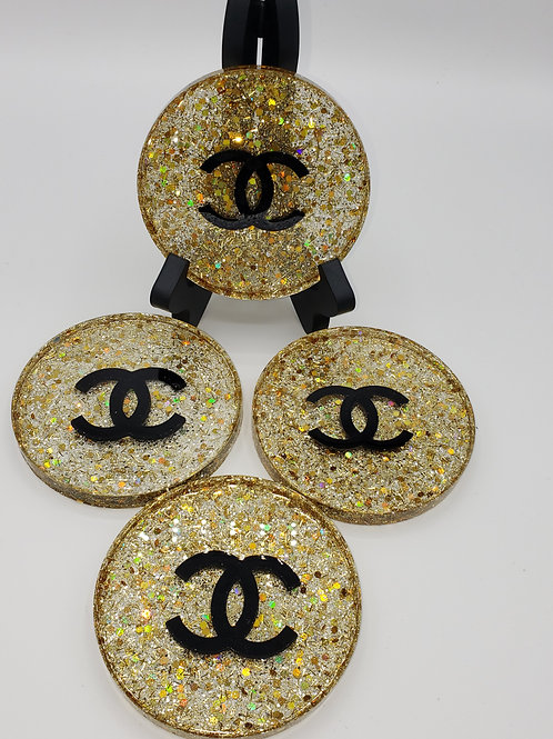 Glitzy Bliss Coasters