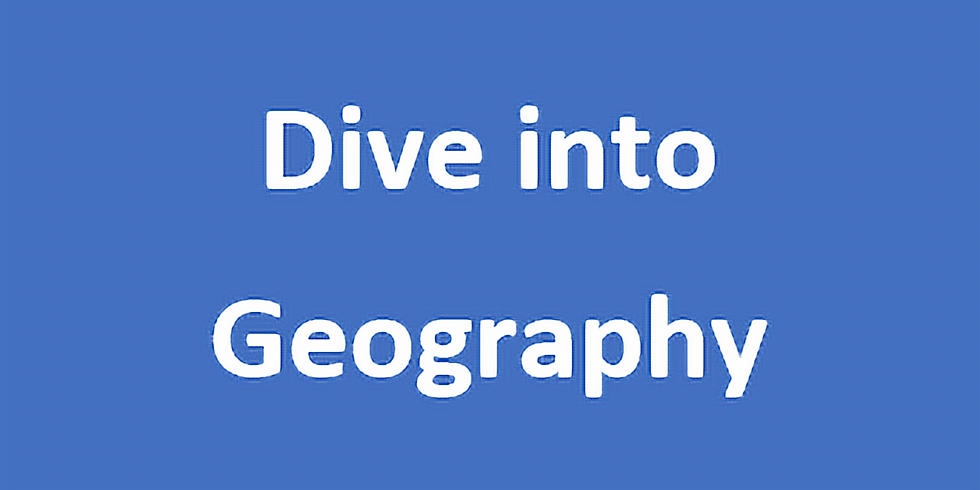 Dive into Geography