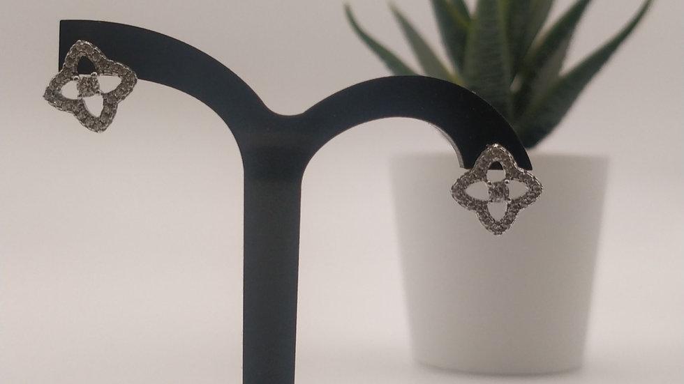 Boucles d'oreilles en oxyde de zirconium