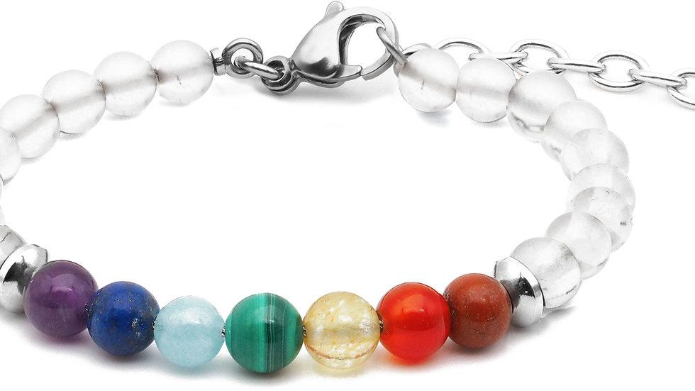 7 chakras cristal de roche