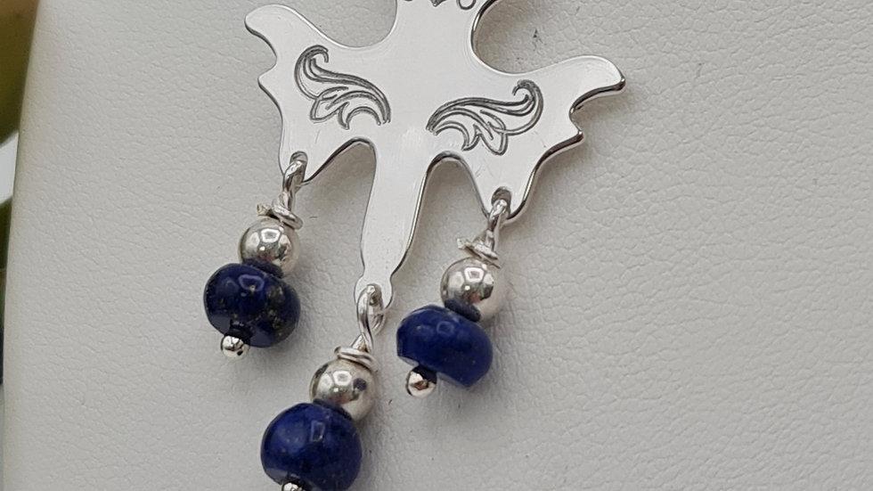pendentif Saint-Esprit lapis lazuli