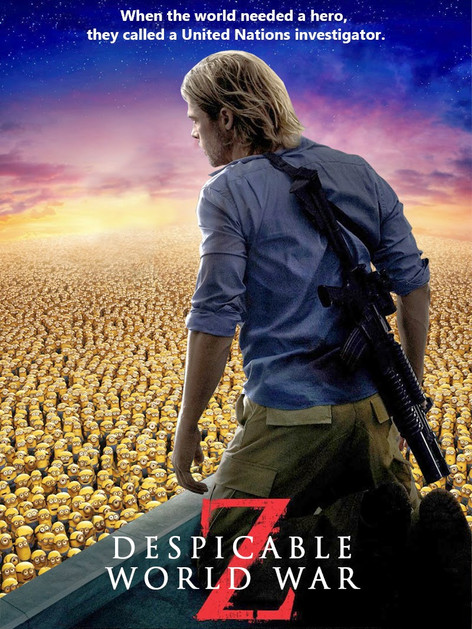 DESPICABLE WORLD WAR Z