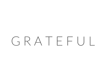 26 Things I am Grateful For