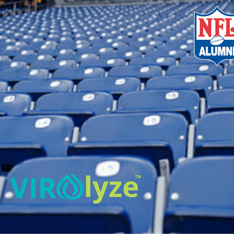 NFL Alumni and Virolyze Announce Partnership to Blitz COVID-19