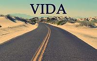 Uma estrada no meio do deserto