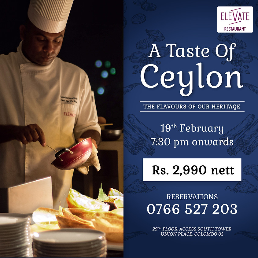 A Taste of Ceylon