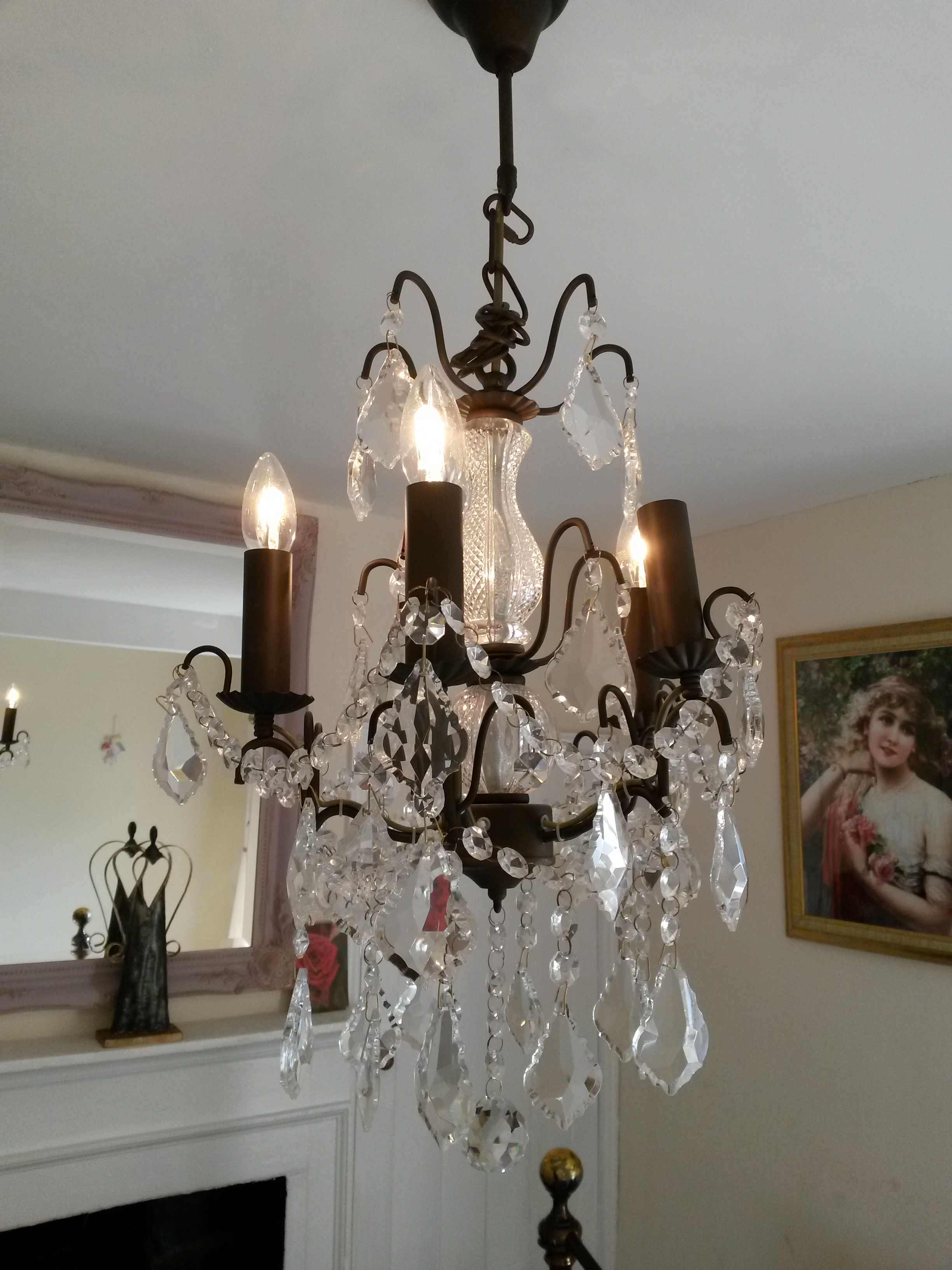 Romantic chandelier