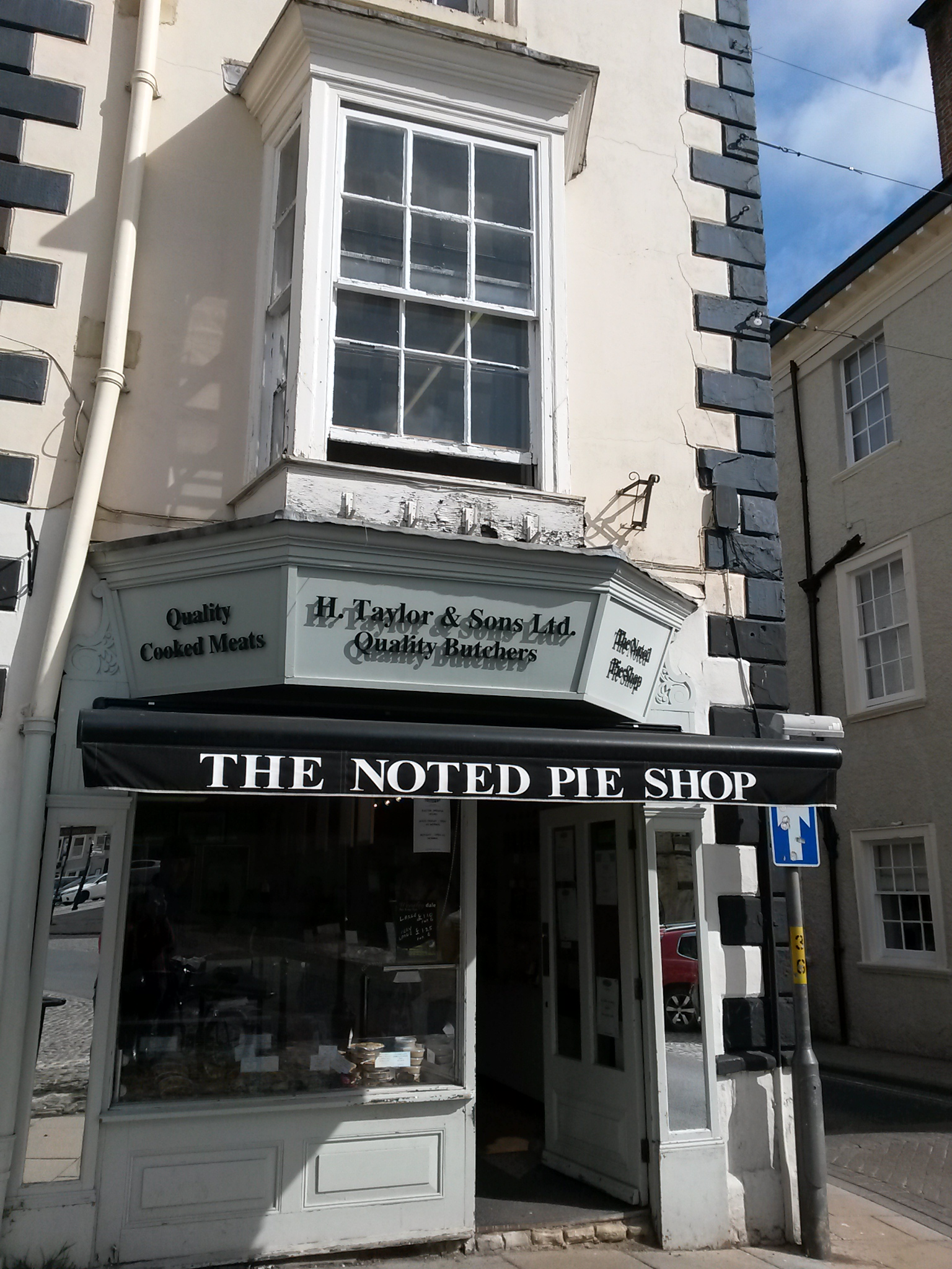 Try the pies!