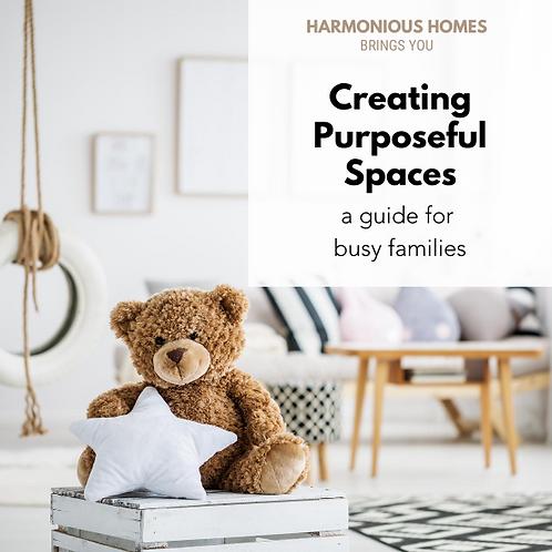 Creating Purposeful Spaces