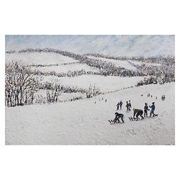 SALLY DONN_Snow Scene at Polesdon Lacey.