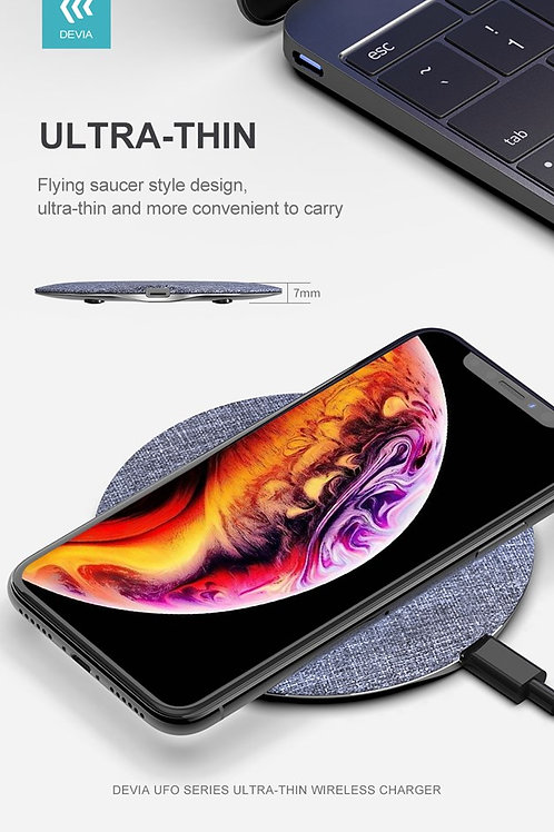 15W Wireless Charging Pad - Grey