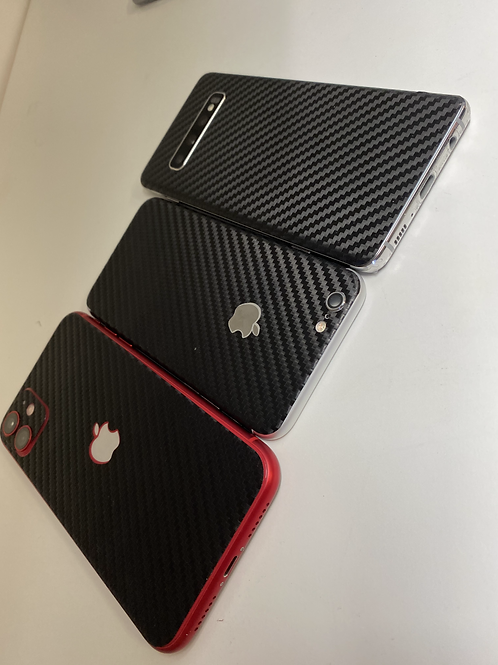Rear Phone Carbon Fiber Skin