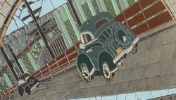 'Transportation' mosaic detail