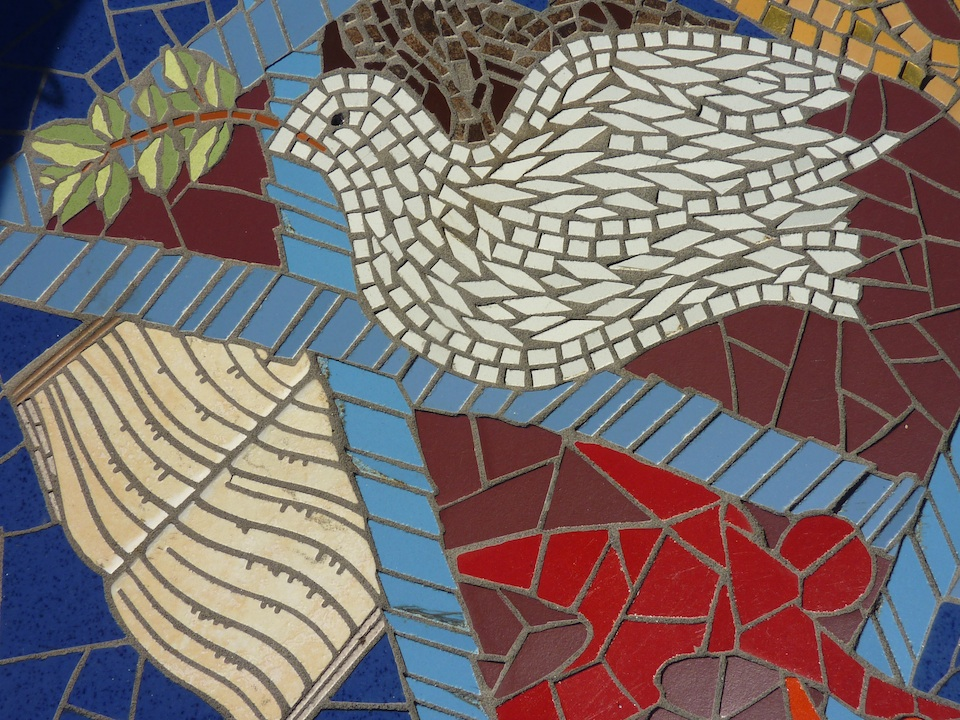 mosaic work detail