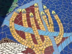 mosaic work detail