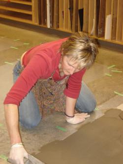 mosaic mesh preparation