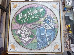 'King Neptune' work in progress