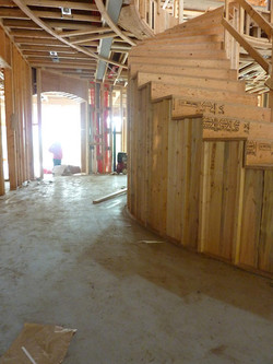 Left side under construction