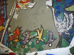 Queensburry community and crane