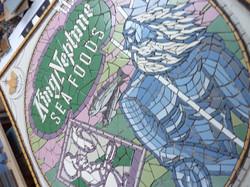 'King Neptune' mosaic work