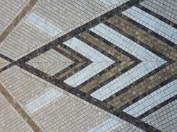 Mosaic marble work in detail - 1