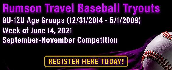Rumson Baseball Fall Season Tryouts