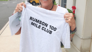 Rumson 100 Mile Club Welcomes Its First Member