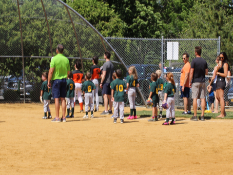 """""""Amazing"""" Grace McOrmond Delights The Crowd At T-Ball Celebration"""
