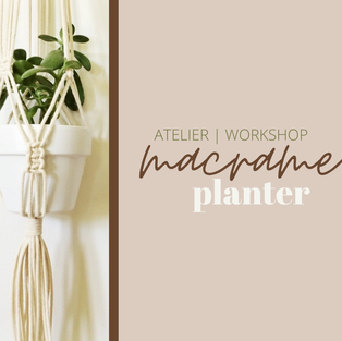 Atelier Macrame Planter Workshop